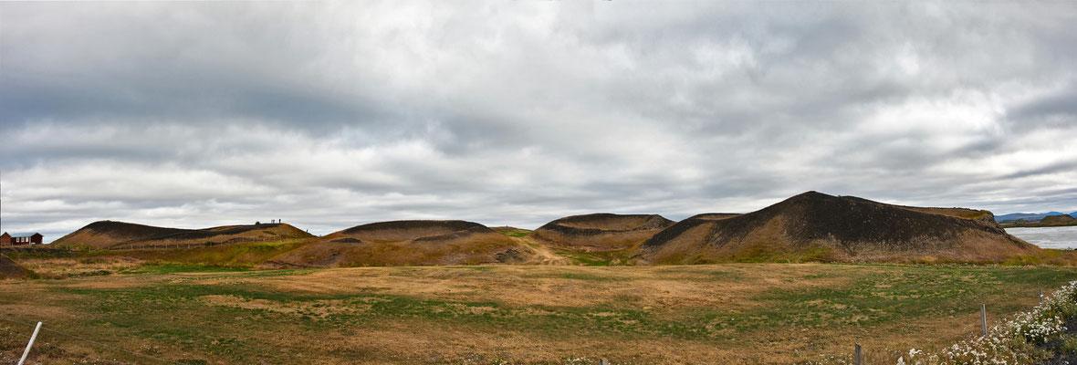 Mývatn Pseudokrater - Island
