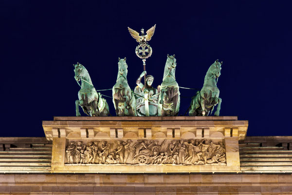Quadriga @ night
