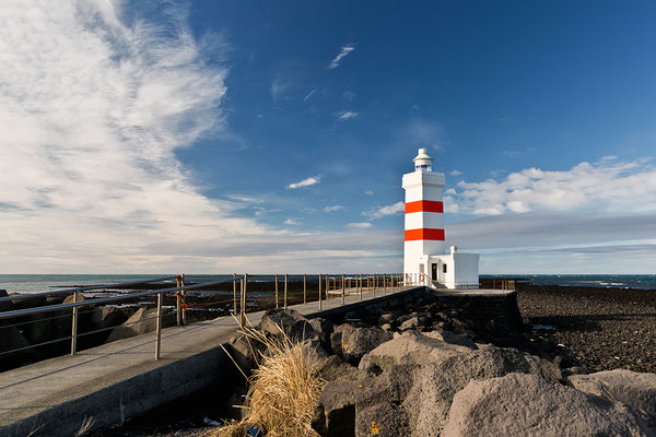 Alter Leuchtturm Garðskagi - Island