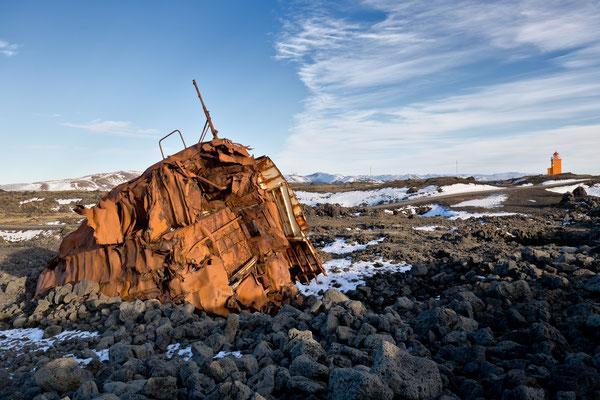 Leuchtturm von Hopsnes- Island