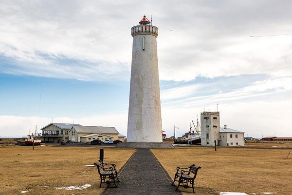 Neuer Leuchtturm Garðskagi - Island