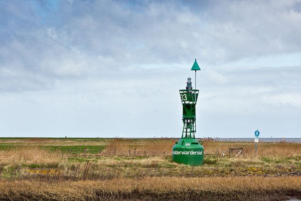 Ausgediente Fahrwassertonne: 'Weser - Backbord-Glockentonne 46'