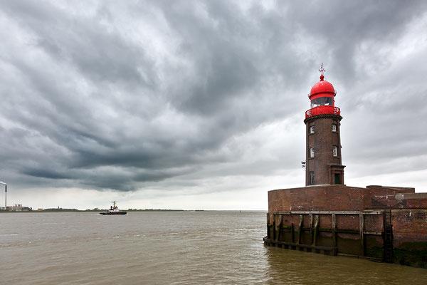 Leuchtfeuer Geestemündung Nord - Bremerhafen