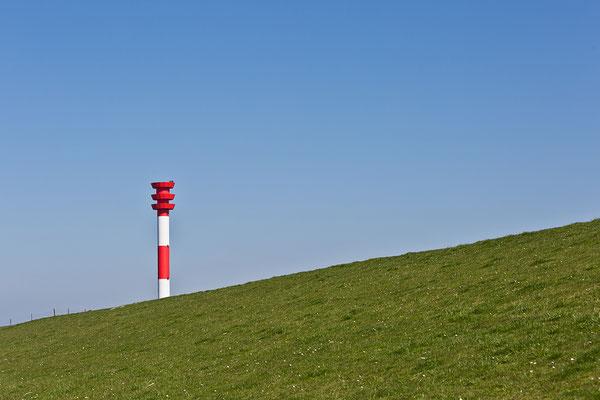 Leuchtturm Oberfeuer Tossens - Eckwarderaltendeich