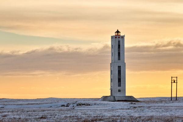 Leuchtturm von Knarraros - Island