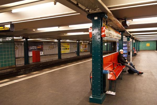 Warten auf den nächsten Zug