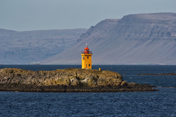 Leuchtturm von Flatey - Island