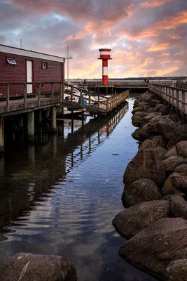 Neuer Leuchtturm Eckernförde (Hafen)