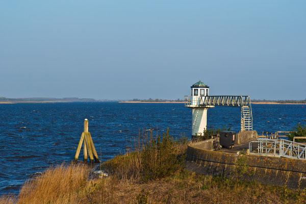 Alter Leuchtturm Oostmahorn (Lauwersmeer) Niederlande