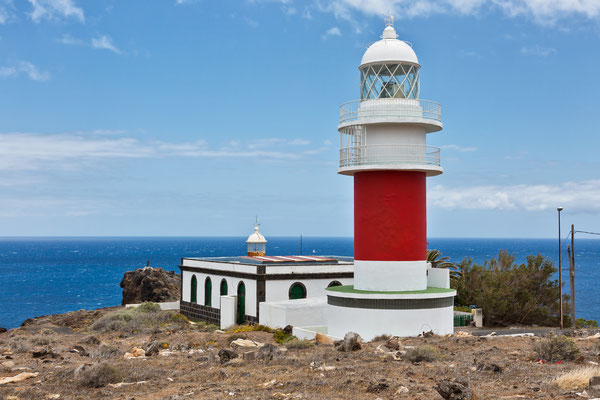 New & old Lighthouse on Punta del Faro / La Gomera/ Kanaren