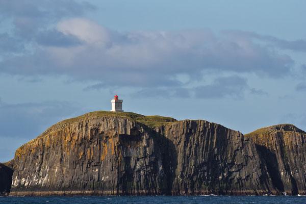 Leuchtturm auf Elliðæy - Island