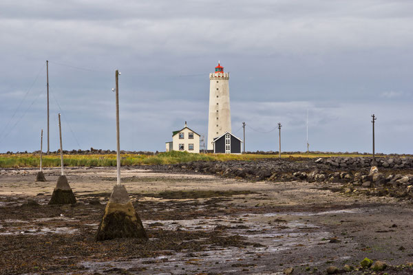 Leuchtturm von Grotta - Island