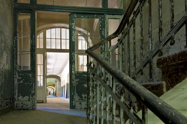 ein Etage nach oben