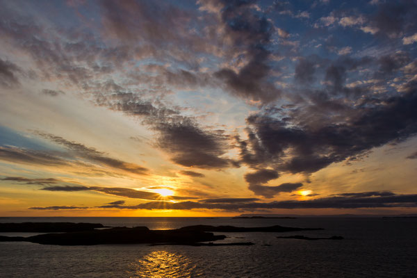 Sunset mit 2 Sonnen