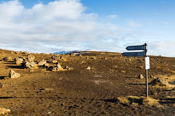 Wander im Vulkangebiet