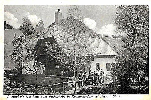 Gasthaus Schober 1926