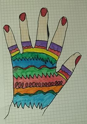 Lia 6b - Mein fingerloser Handschuh