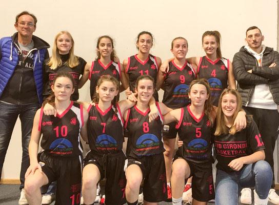 U18 Filles 1 de la CTC