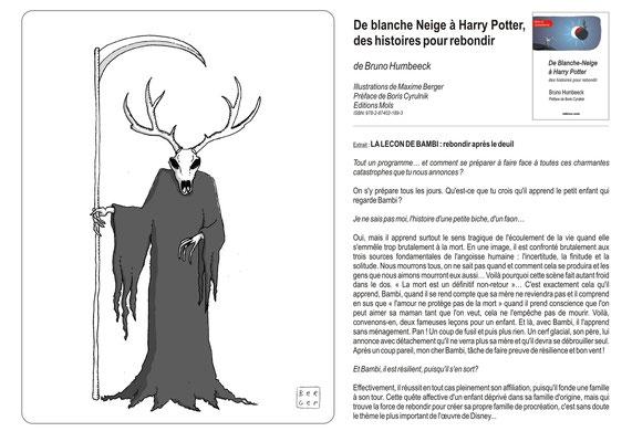 De Blanche Neige à Harry Potter, des histoires pour rebondir Bruno Humbeeck Maxime Berger