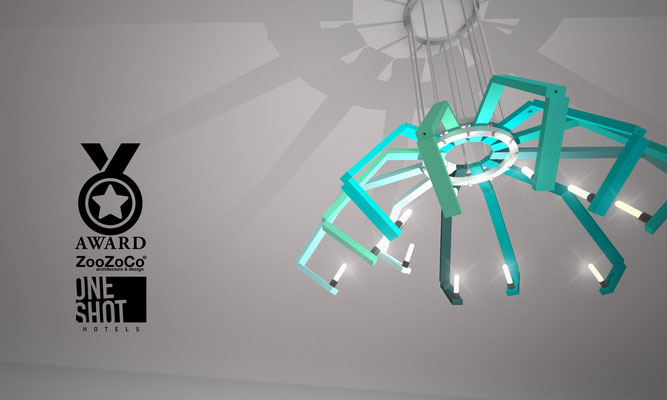 spider lamp for oneshot hotels