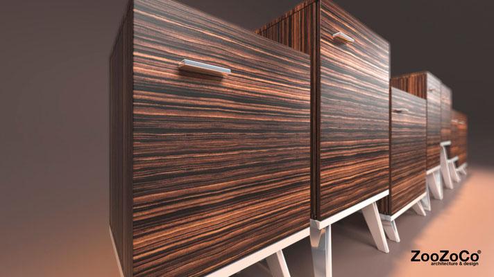 modular sideboard by ZooZoCo