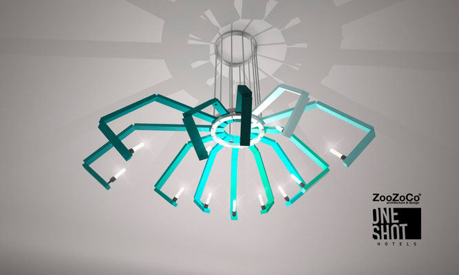 spider lamp by ZooZoCo