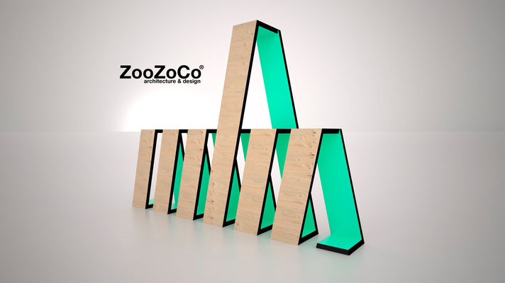 colored rings by ZooZoCo
