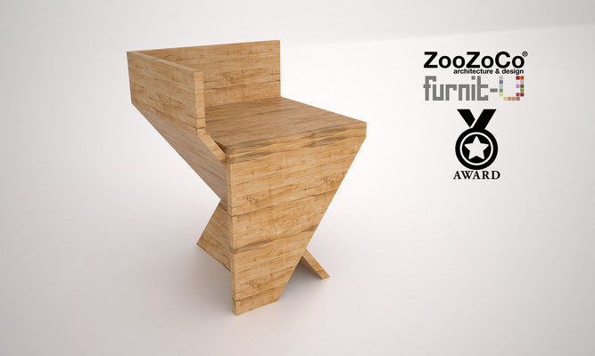 angled stool for furnit-u