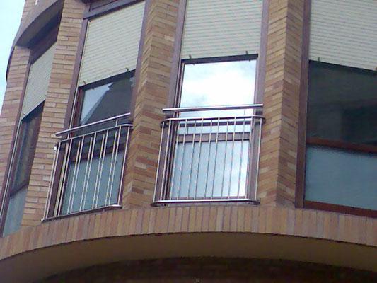 balconeras inox