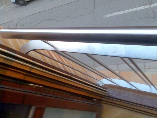 detalle balconeras inox