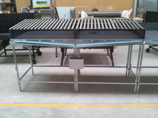 asadores modulares para catering brasa