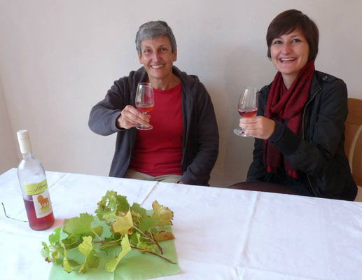 Die Weinverkostung in unserer Probierstube: das kulinarische Highlight im Anschluss an die Themenführung