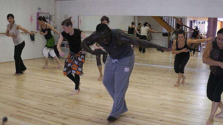 Stage de danse avec Marius Sawadogo