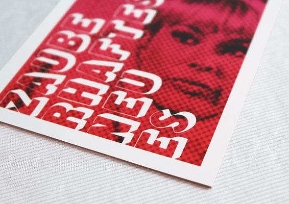 Silvester-Postkarte