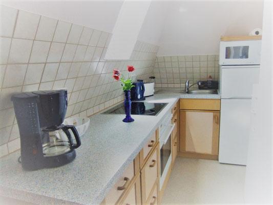 Küche  norderney ferienwohnung