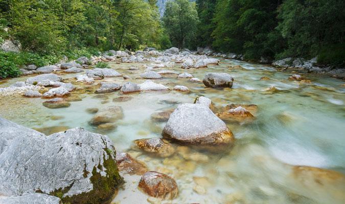 Soča, Slowenien 2017