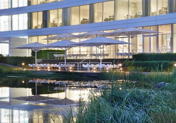 Sonnenschirme für Hotels