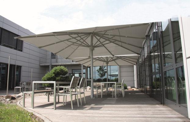 Sonnenschirme, Sonnenschutz in 63639 Flörsbachtal ✅ may Sonnenschirme vom Fachhändler für Große Sonnenschirme für den Objekteinsatz ✅ FINK Sonnenschirme ✉ info@fink-sonnenschirme.de ☎ 06026 999696-0 🌐 www.fink-sonnenschirme.de