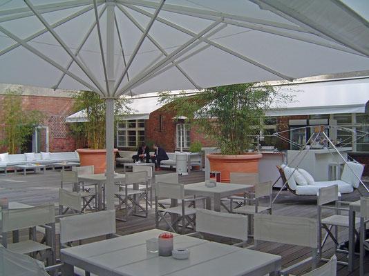 Sonnenschutz für Gastro und Hotel