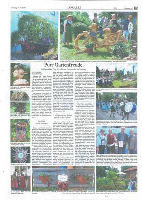 Artikel von Dorothee Englschallinger in Südostbayerischer Rundschau