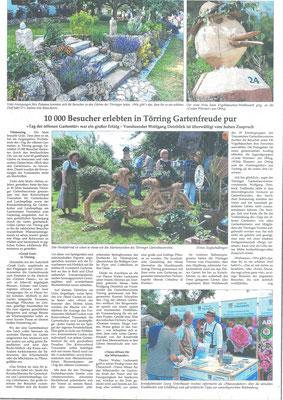 Artikel von Dorothee Englschallinger  im Traunsteiner Tagblatt