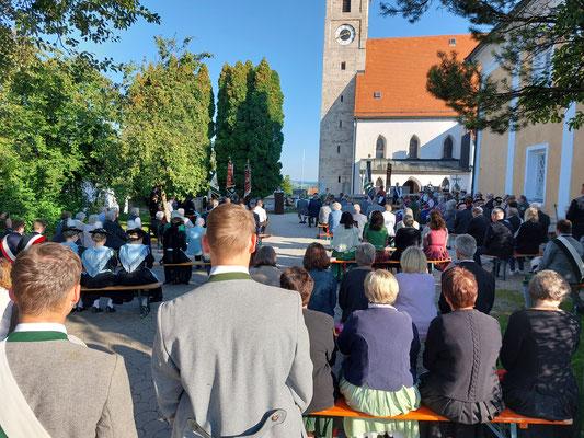 Messe im Freien
