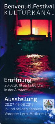 UNESCO Welterbe Augsburg Illumination Wolfgang F. Lightmaster - Wasser - Kraft - Licht