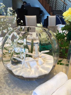 ウェディング 装花 花 花ひろ 福井 鯖江 結婚式 ブライダル オリジナルウェディング スターフィッシュ