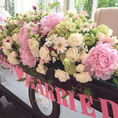 ウェディング 装花 花 花ひろ 福井 鯖江 結婚式 ブライダル オリジナルウェディング