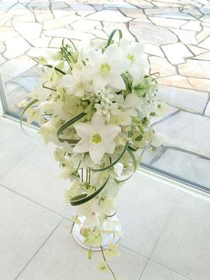 星形の花 ユーチャリスのブーケ