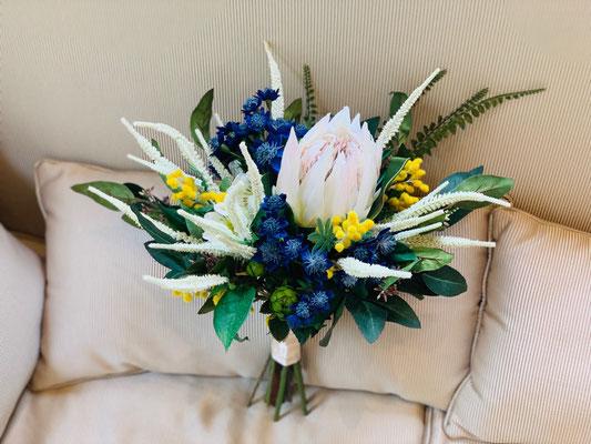海外挙式用にご依頼いただいた造花のブーケ