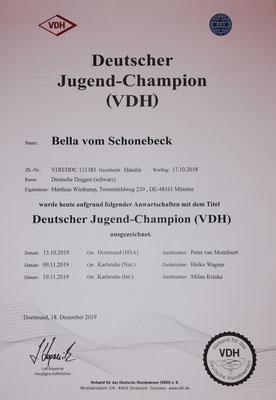 Deutscher Jugend Champion Schönheit
