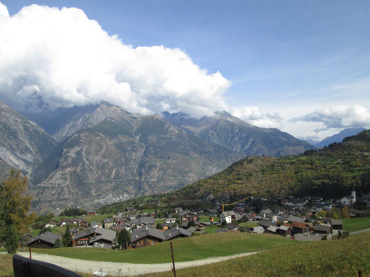 Das Dorf Unterbäch