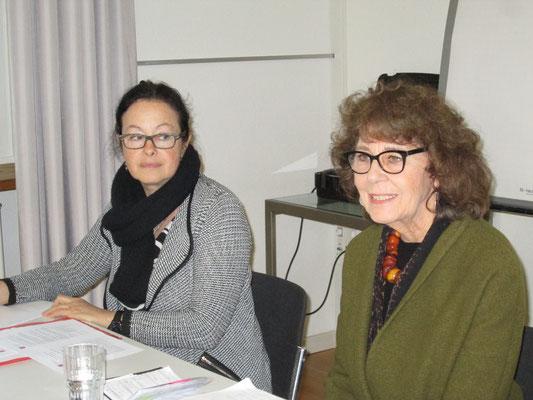 Jahresversammlung frbb 27.04.2016 Annemarie Heiniger und Valérie Bolliger